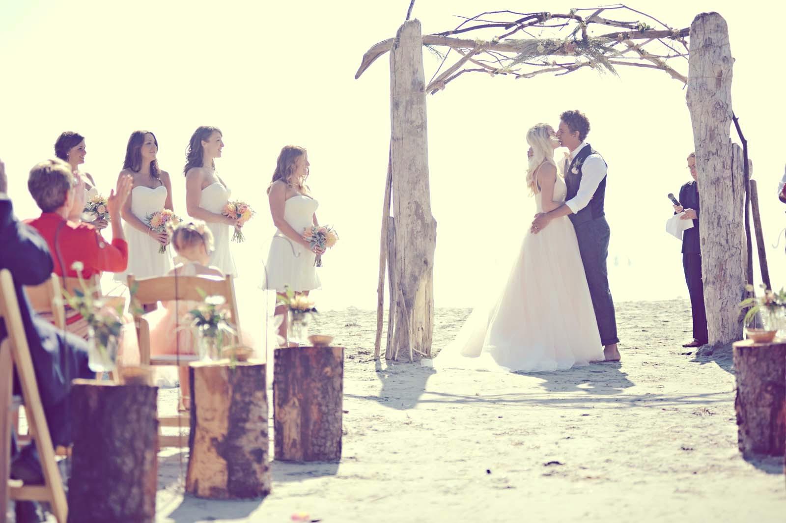 Erin Wallis Photography_Beach Wedding Arch