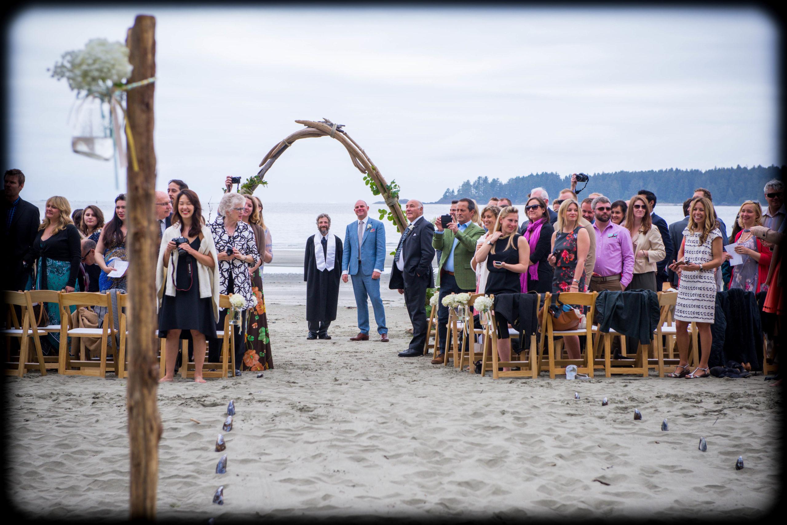 Douglas Ludwig_Tofino Beach Wedding