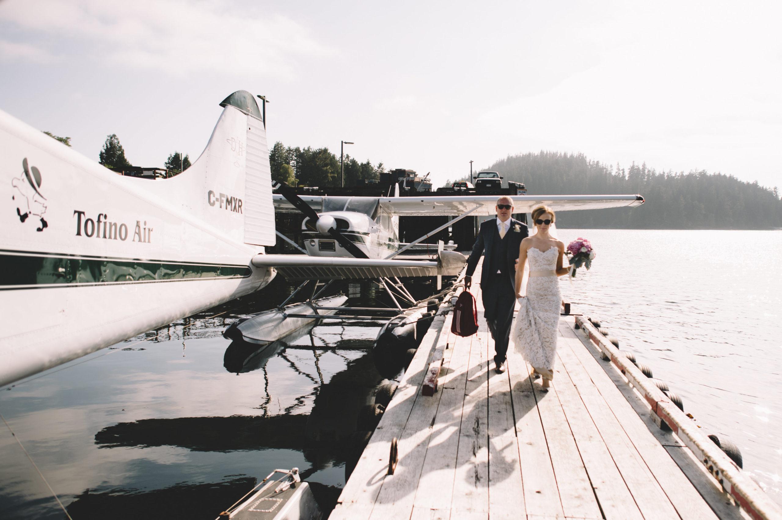 Szymon Szymczakowski_Float Plane Wedding