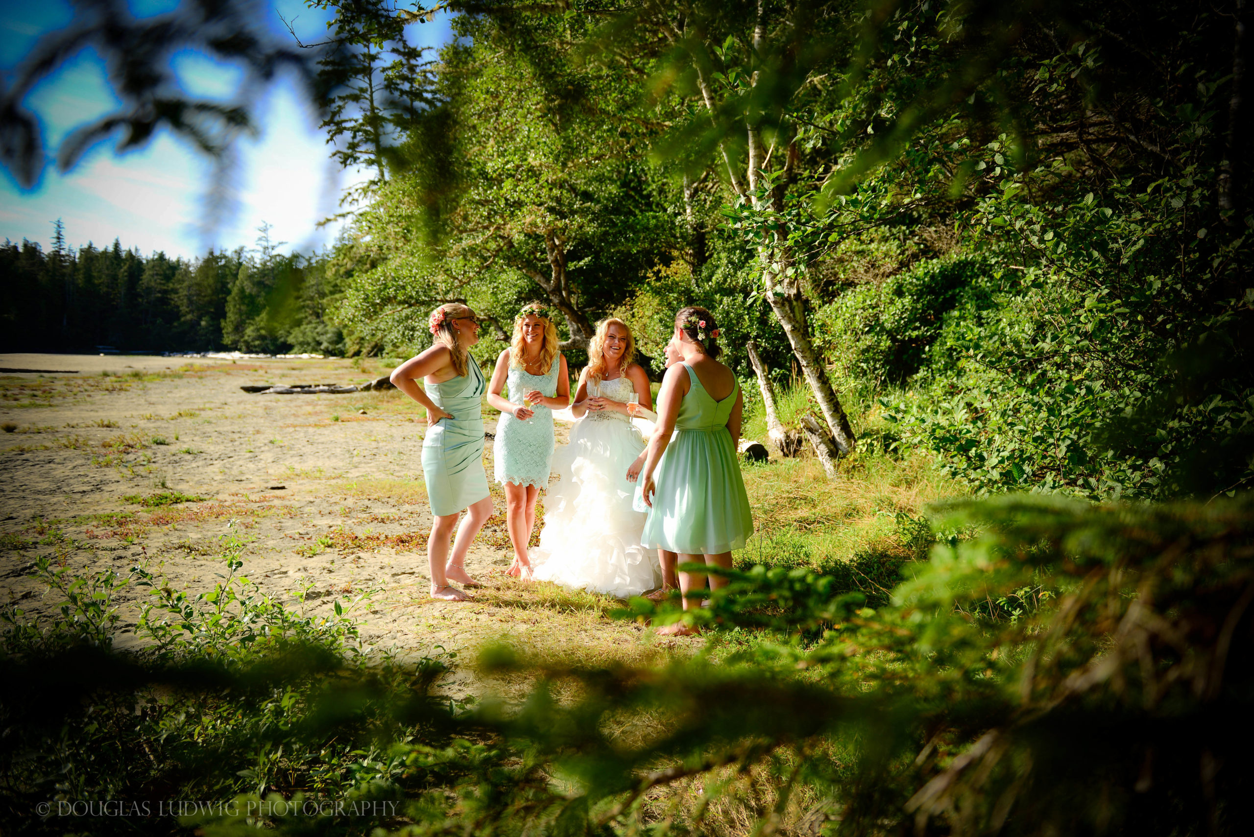 Douglas Ludwig_Bride and Bridesmaids