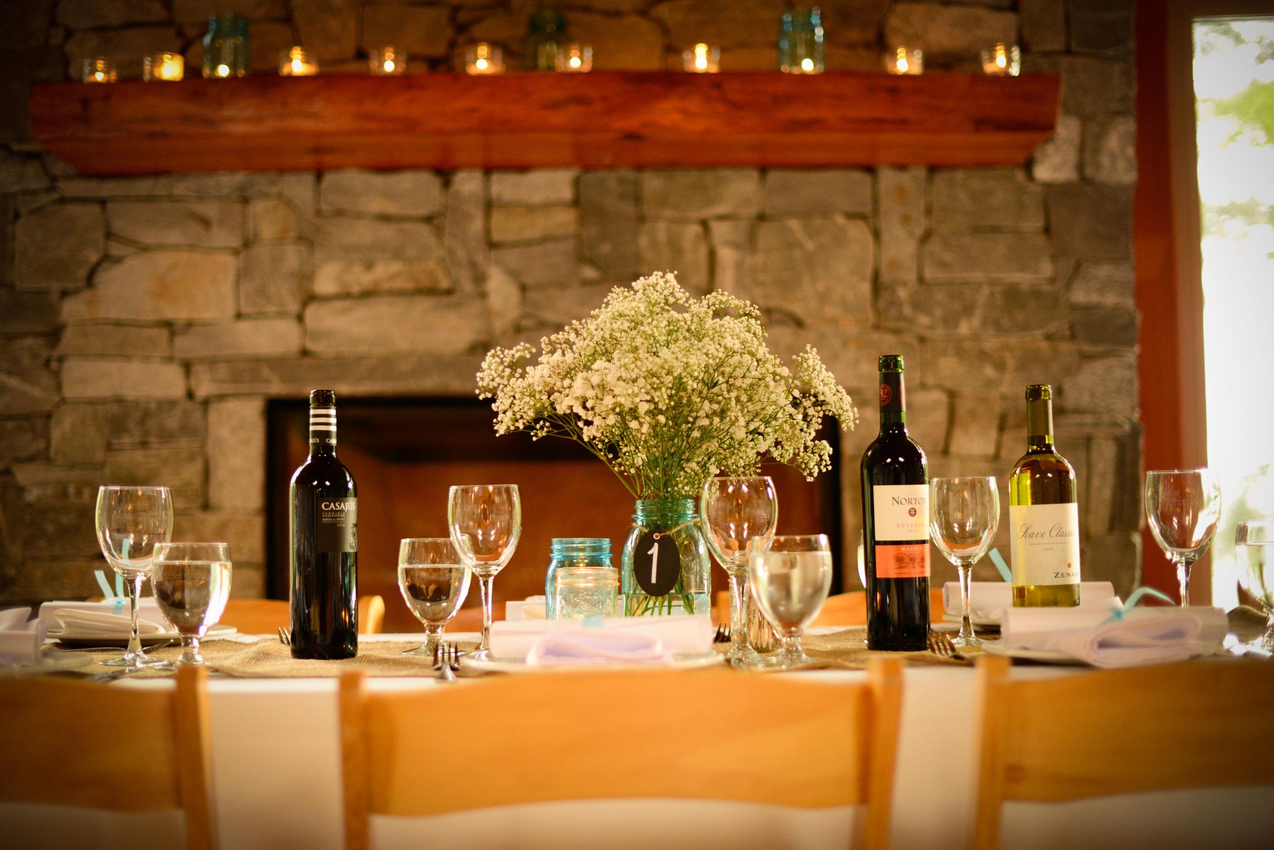 Douglas Ludwig_Wedding Tables and Wine