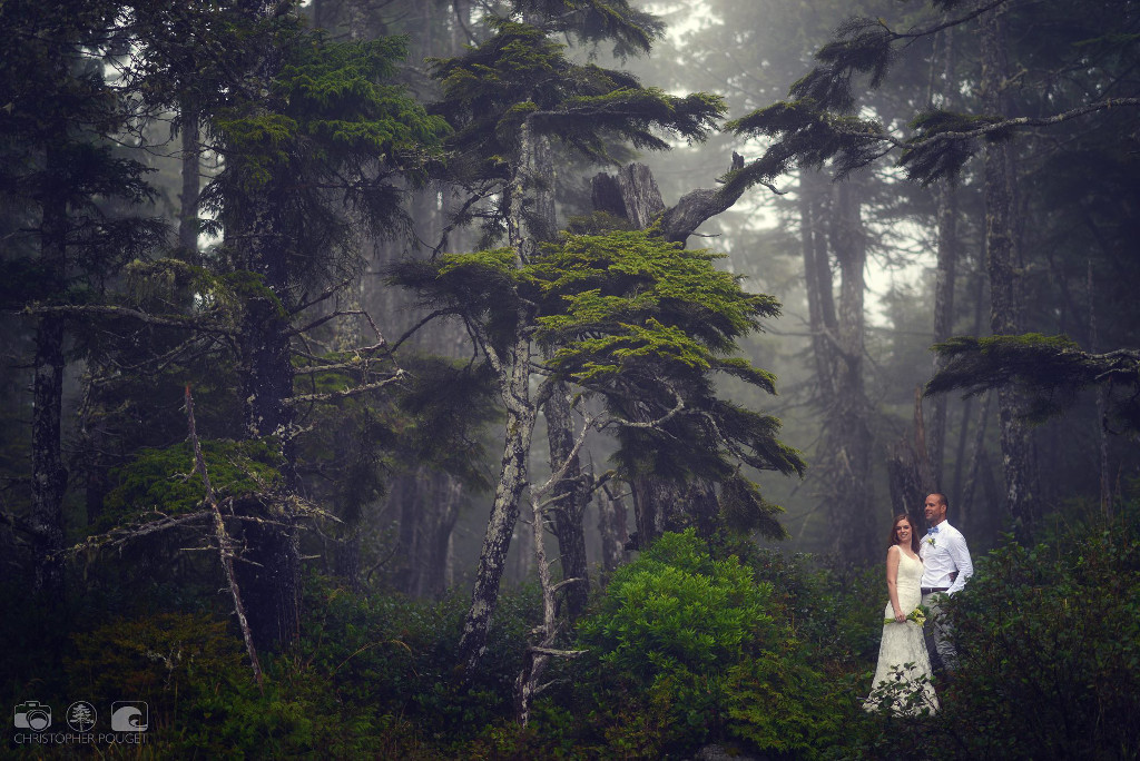 Chris Pouget_Forest Wedding